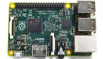 Raspberry Pi 2 B, 1 GB RAM kompiuteris